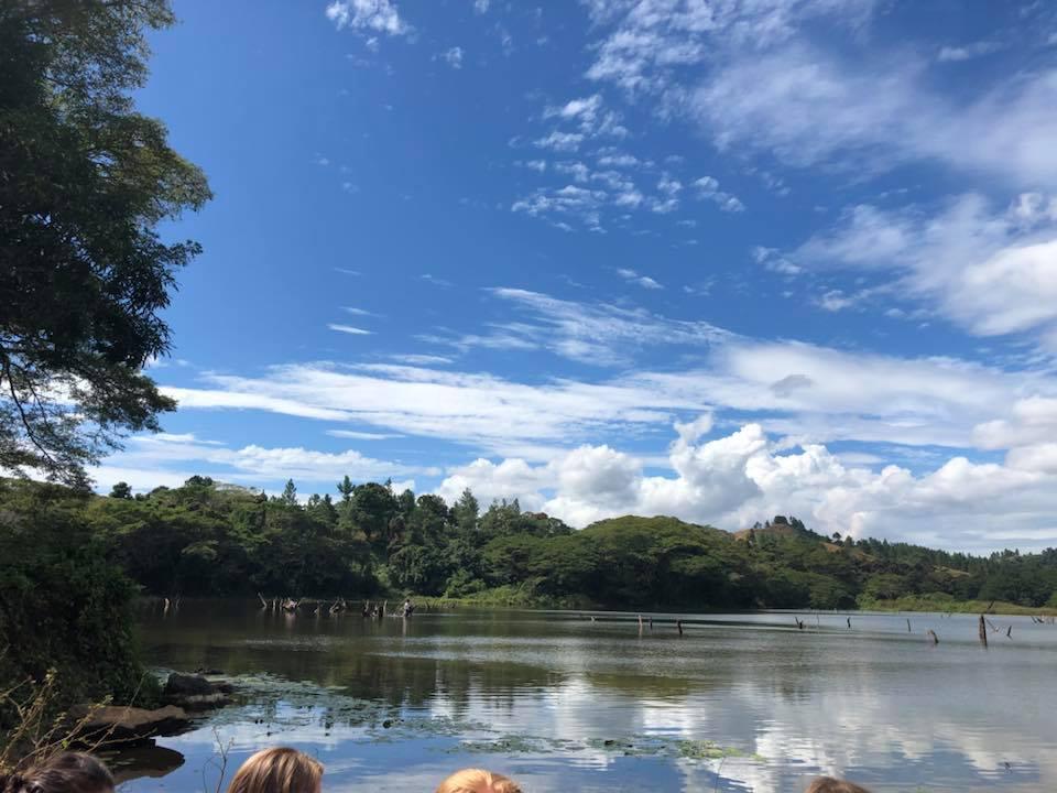 le view, me fish