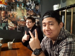 From left: Gavin, Sujay