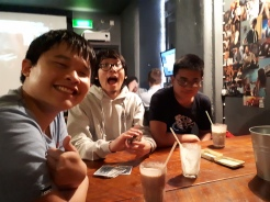 From left: Gundit, Gandit, Kevin